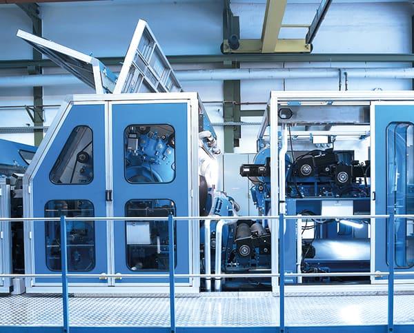 Maschine für Profilbau