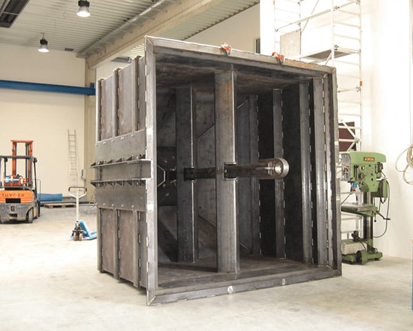 Hülsmann Blech Sonderanfertigung für den Maschinen- und Anlagenbau, Container