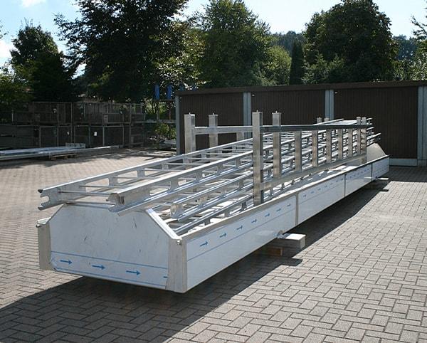 Hülsmann Blech Sonderanfertigung für den Maschinen- und Anlagenbau, Gerüst