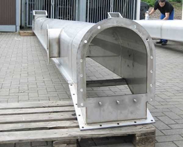 Hülsmann Blech Sonderanfertigung für den Maschinen- und Anlagenbau, Metallrohr