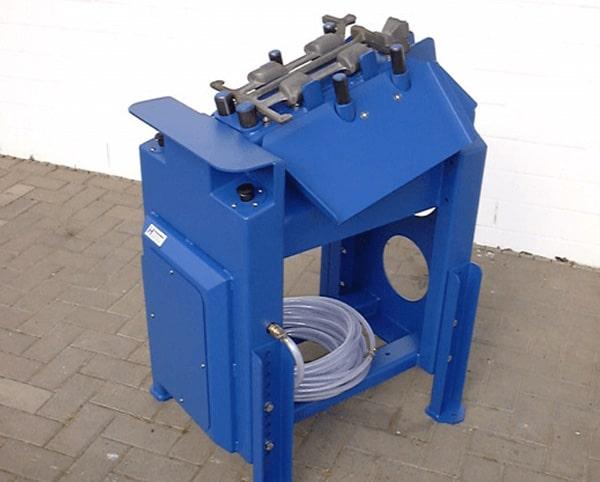 Hülsmann Blech Abknackvorrichtung für den Maschinen- und Anlagenbau