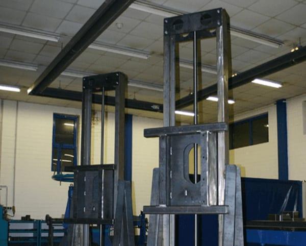 Hülsmann Blech Sonderanfertigung für den Maschinen- und Anlagenbau, HUbegrüst