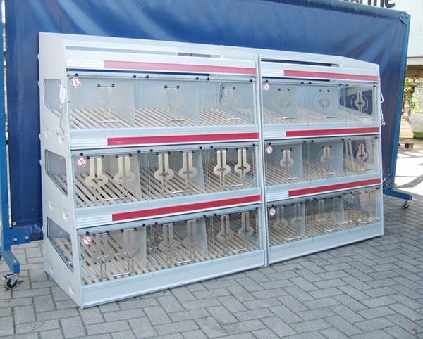 Auslagegestelle für Brote und Brötchen
